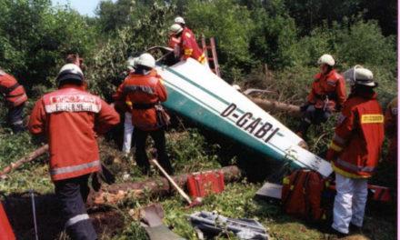 Flugzeugabsturz im Stadtforest