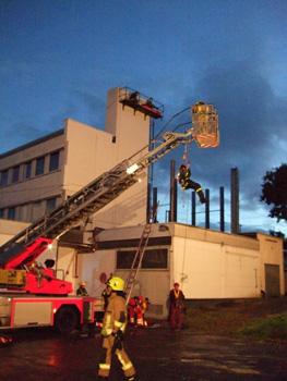 Geheime Alarmübung in Pinneberg-Waldenau