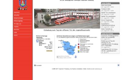Neue Homepage – bewährtes Design