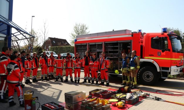 Ausbildungstag an der Rettungswache Pinneberg