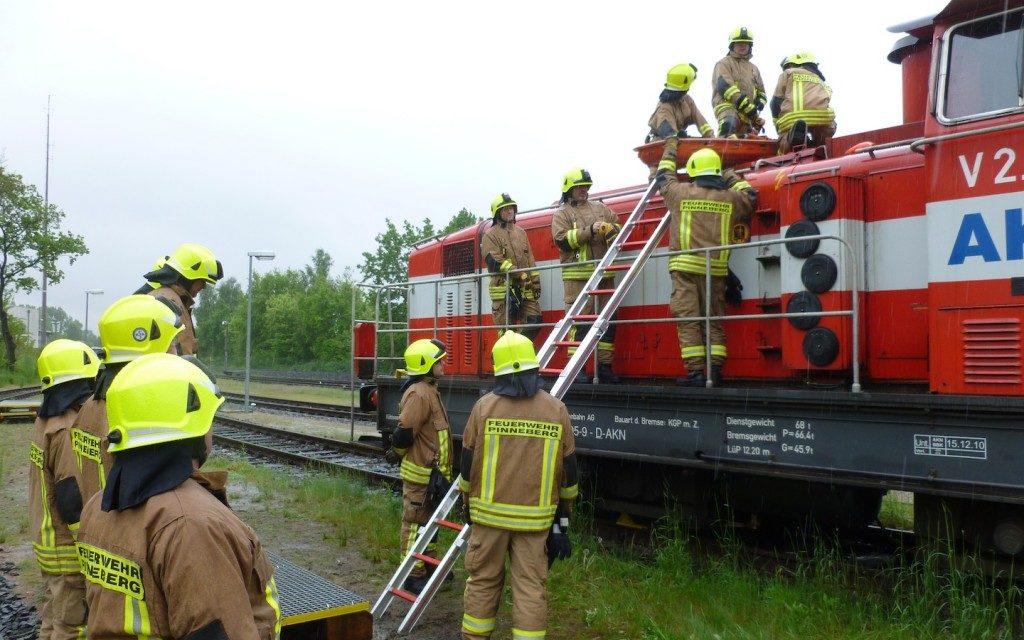 Fortbildung technische Hilfeleistung im Bahnbereich