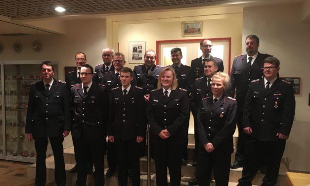 Jahreshauptversammlung der Freiwilligen Feuerwehr Pinneberg 2017