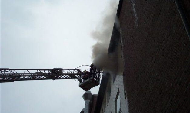 Großfeuer im Klinikum