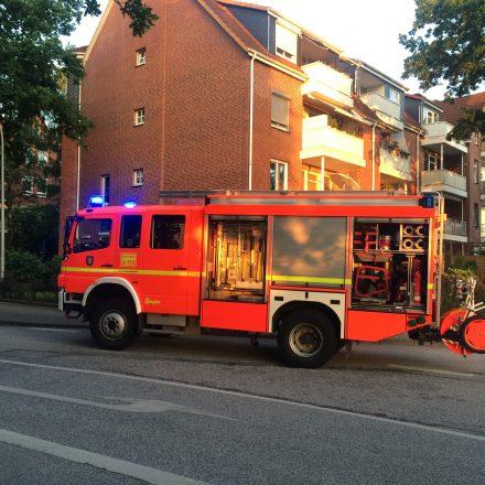 Rauchwarnmelder ausgelöst in der Moltkestraße