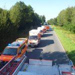 Rettungswagen in Bereitschaft