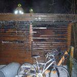 Totalschaden verursacht durch Brandstiftung ?