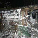 Das Feuer konnte im vorderen Teil des Schuppens aufgehalten werden