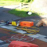 Bereitgestelltes Gerät für die technische Rettung