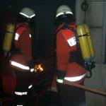 Durch das schnelle Eingreifen der Feuerwehrleute konnte ein übergreifen auf andere Zimmer verhindert werden