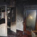 Brand- und Rauchschäden im Erdgeschoss