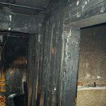 Das Feuer hat die sehr verwinkelten Kellerräume komplett zerstört