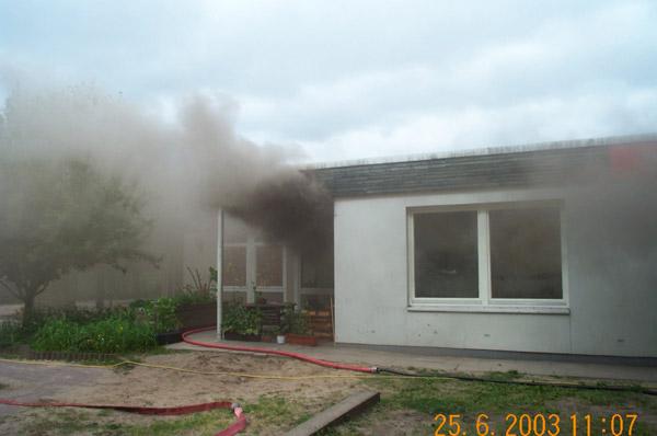 brennt Küche