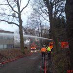 Kräfte der Freiwilligen Feuerwehr Pinneberg im Einsatz