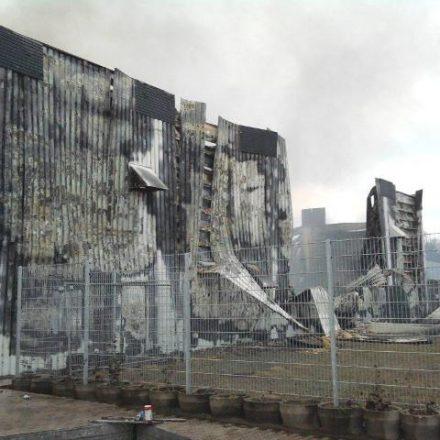 Zerstörte Fassade