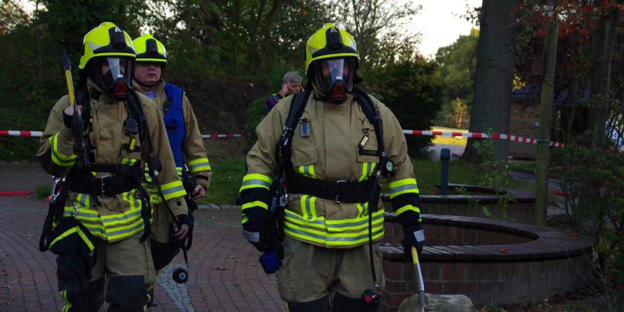 Feuer im Keller des Klinikums (Wedel)