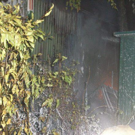 Beengte Verhältnisse erleichterten die Brandausbreitung