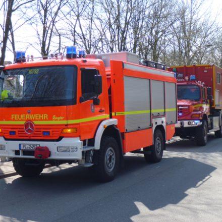 Rüstwagen Pinneberg und WLF ABC-Dienst
