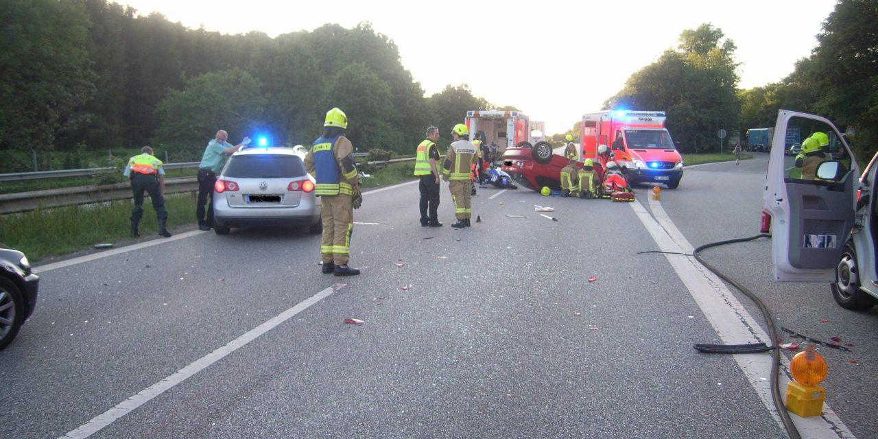 Verkehrsunfall auf BAB