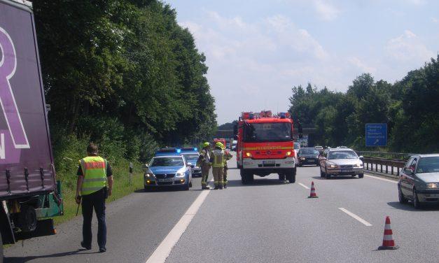 Erkrankten LKW-Fahrer aus Kabine retten