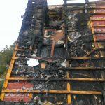 Die Zerstörungen im Dachbereich