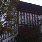 An der Schule Lindenstraße riß der Sturm einige Ziegel aus dem Dach