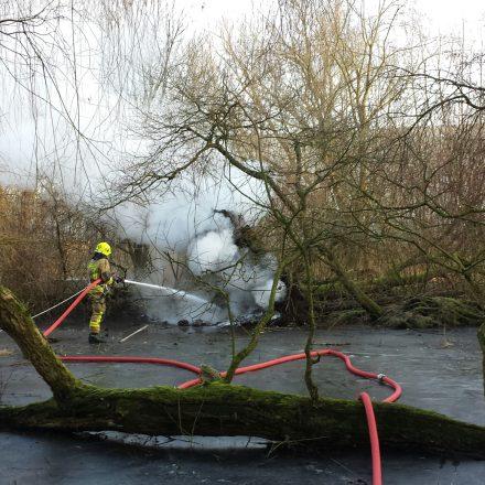 Brandbekämpfung mit Druckluftschaum