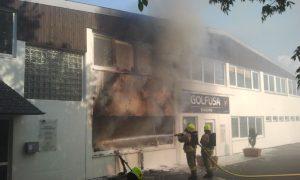 Der Laden brannte komplett aus