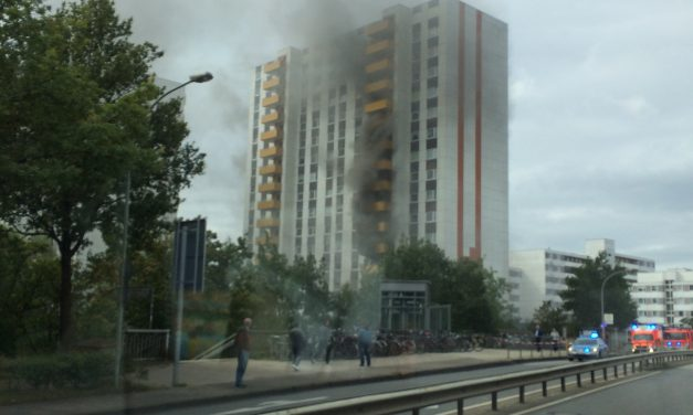 Wohnungsbrand im 3. OG