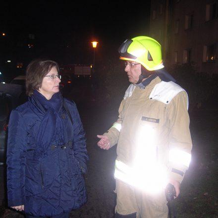 Bürgermeisterin der Stadt Pinneberg erkundet sich vor Ort
