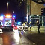 Feuerwehrleute in Bereitschaft