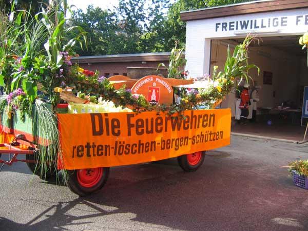 Erntedankfest Waldenau