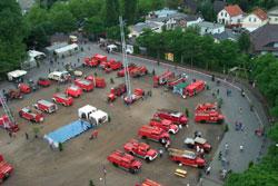 Oldtimerausstellung auf dem Pinneberger Marktplatz