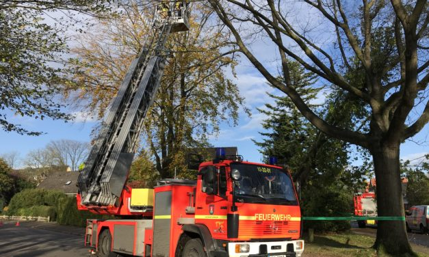 Sturm Herwart beschäftigt auch die Feuerwehr Pinneberg