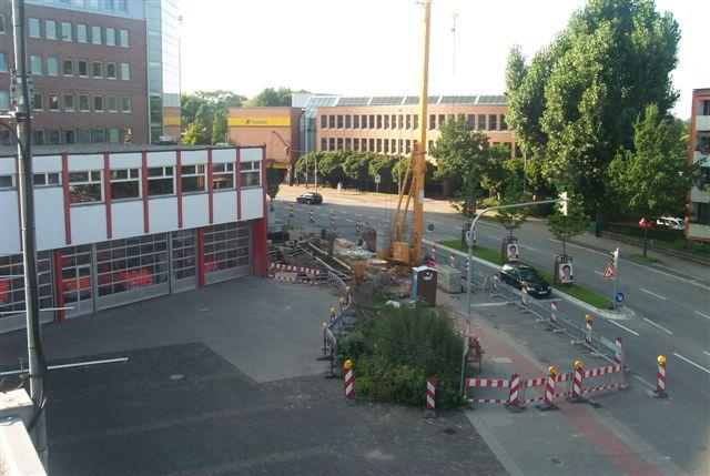 Erweiterung der Hauptfeuerwache an der Friedrich-Ebert-Straße