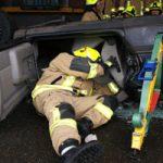 Erkundung und Airbag-Scannung im Innenraum