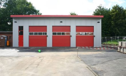 Umbau des Gerätehauses in Pinneberg-Waldenau