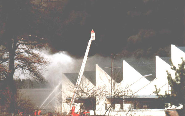 EDEKA – Lagerhallenbrand