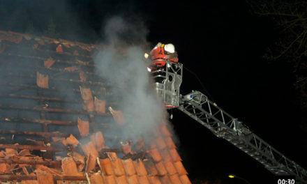 Gebäudebrand Schulenhörn