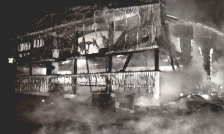 Strobel – Lagerhallenbrand