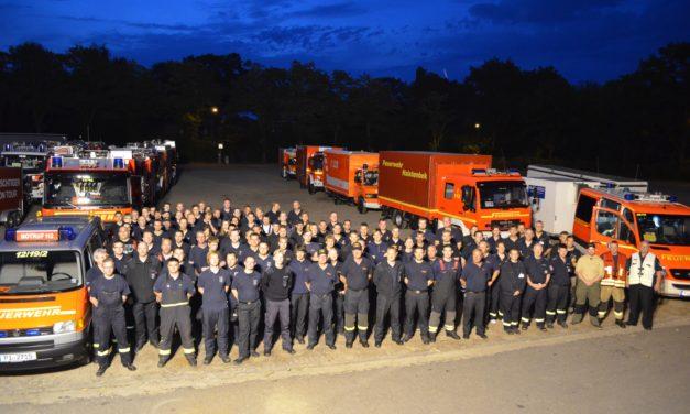 Unterstützung der FF Pinneberg bei Hochwassereinsatz in Sachsen-Anhalt