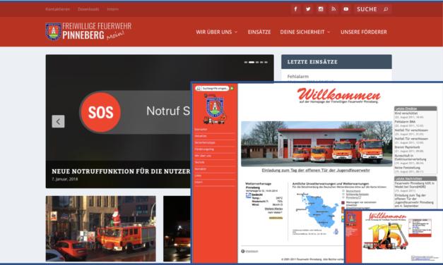 Neue Homepage – neues Design