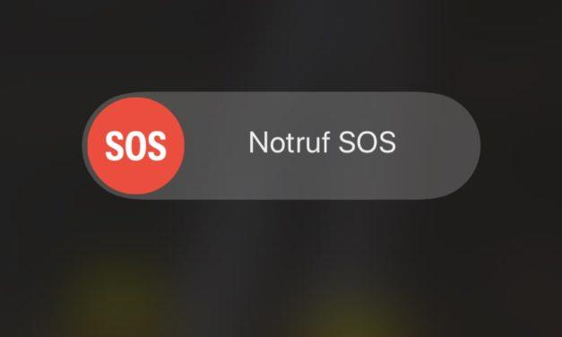 Neue Notruffunktion für die Nutzer von iPhones!