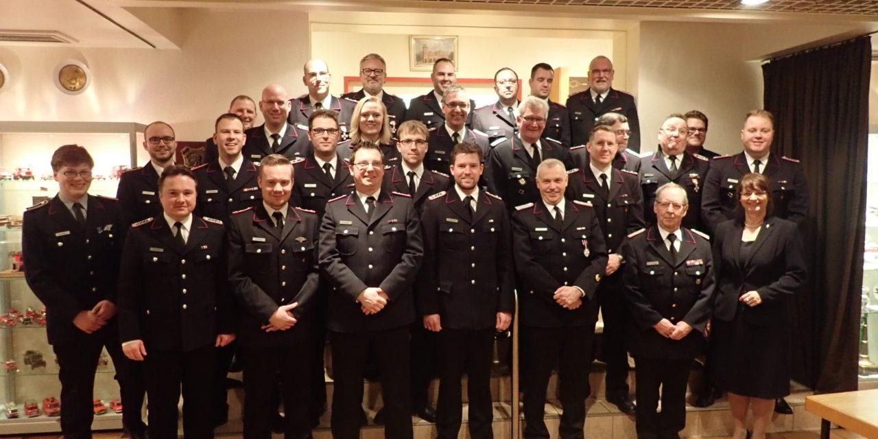 Jahreshauptversammlung der Freiwilligen Feuerwehr Pinneberg