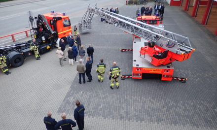 Löwen bei der Feuerwehr