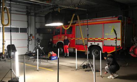 Videodreh bei der Freiwilligen Feuerwehr Pinneberg