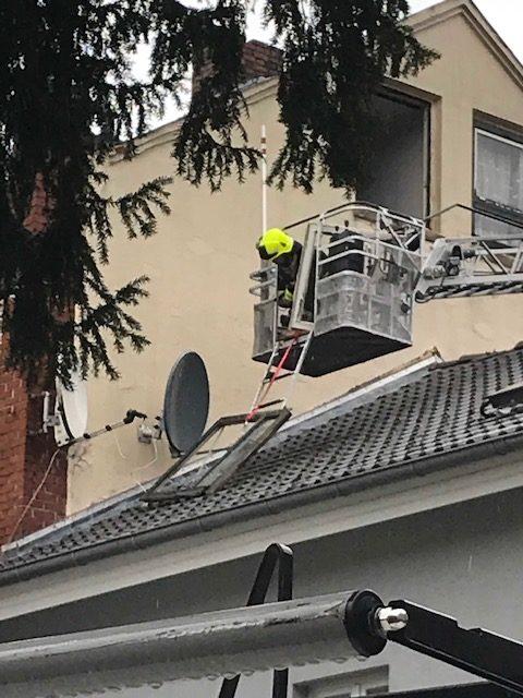 Abgestürztes Fenster