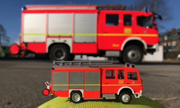 Große Feuerwehr ganz klein …