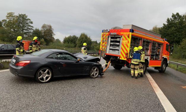 Verkehrsunfall – auslaufende Betriebsstoffe