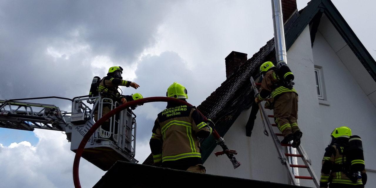 Feuer im Dachstuhl