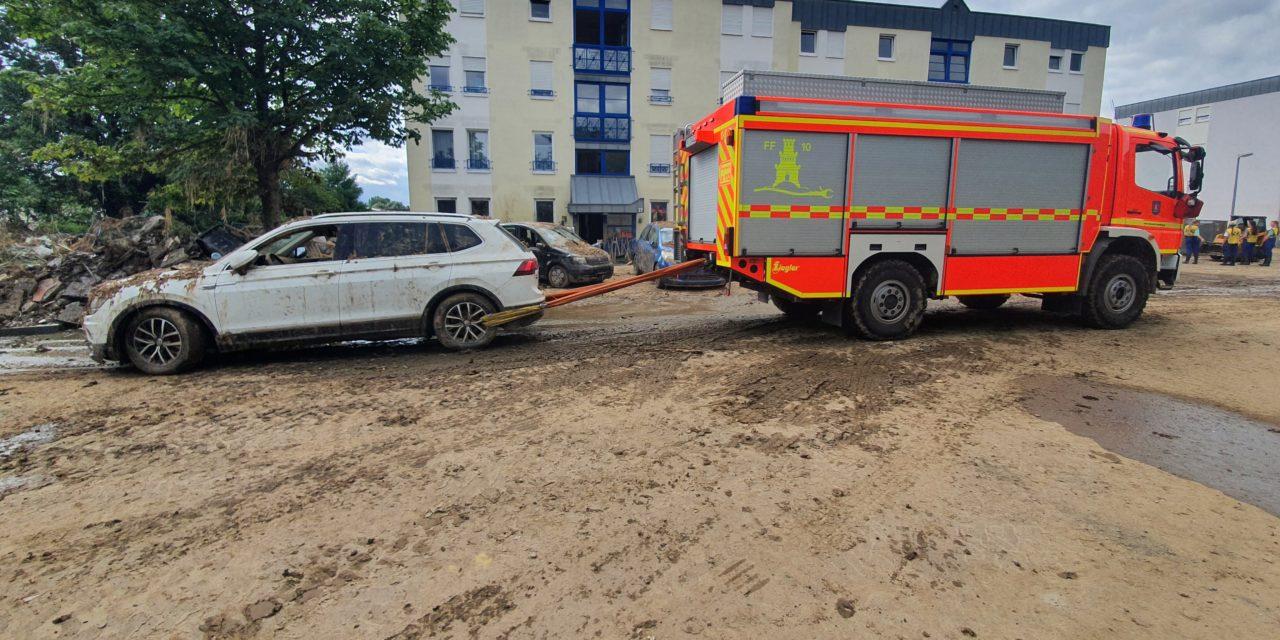Feuerwehr Pinneberg im Hochwassereinsatz